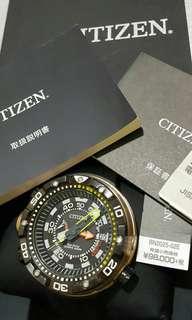 Citizen Promaster Sea BN2025-02E  2014年7月購入   95% New   跟盒,說明書,保養証