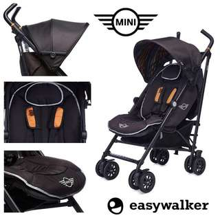 EasyWalker MINI Buggy (Jet Set Black)