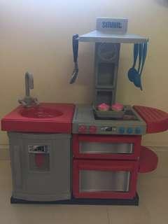 SMART Toy Kitchen set & fruits