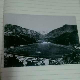 舊日的足跡 香港影畫集 postcard 1865年 香港快活谷全景 背景 黃泥涌村 hk 50元