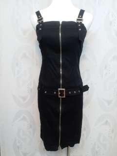 🚚 黑色包臀 吊帶連身裙