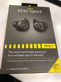 Jabra Elite Sport (13.5hr)