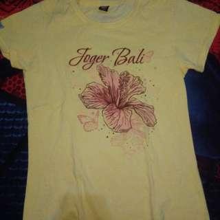 Kaos merek Joger Bali Ori size XL