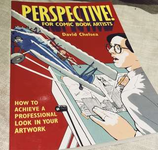 Perspective for Comic Book Artists by David Chelsea