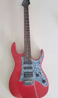 Electric guitar:- Deviser