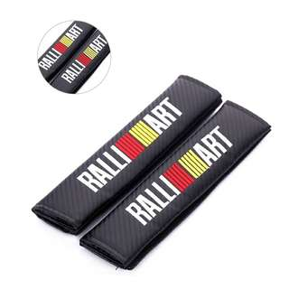 Ralliart CF Seatbelt Attached