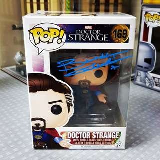 Doctor Strange Funko Pop - Signed by Benedict Cumberbatch