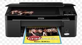 🚚 EPSON TX120印表機