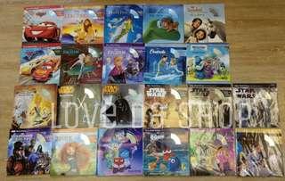 Disney 迪士尼卡通英文故事書連CD