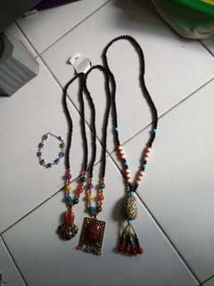 Necklaces and Bracelet