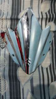 Suzuki Raider Silver Visor