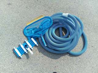 Skimmer net , vacium head , heavy duty hose swimming pool