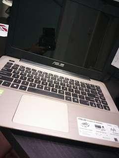 ASUS laptop (Intel i5, 8GB RAM, nvidia gpu, 1TB hdd)