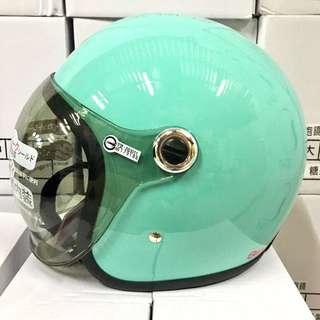 涼感機能 泡泡鏡安全帽
