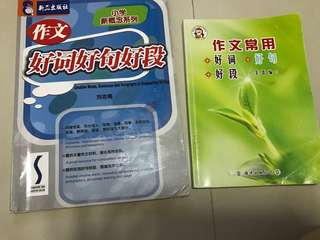 Chinese composition supplementary guide book