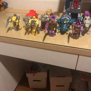 G1 transformers pretenders beasts vintage