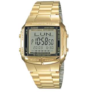 Casio Unisex Data bank DB-360G-9ADF