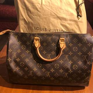 降價近全新 LV 40公分 手提袋 旅行袋