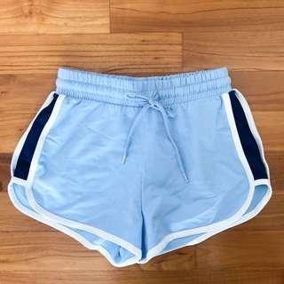 Monki sporty runner shorts