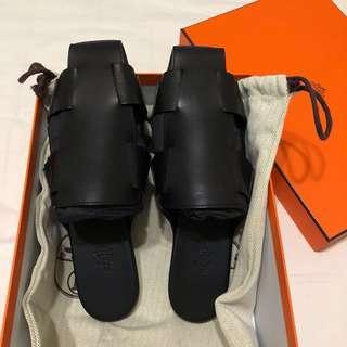 Runway Collection!!! BNIB Hermes Ruse Mule Sandal