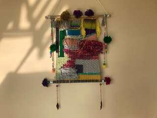 Pom Pom Tapestry