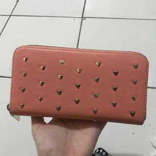 Charles&Keith Dompet Pink