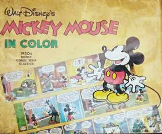 Disney Mickey Mouse Story w/ FREE DIY Origami Book