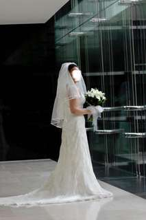 San Patrick wedding dress - size 12
