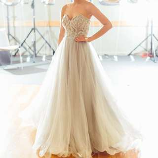 Jadore ball gown - light grey