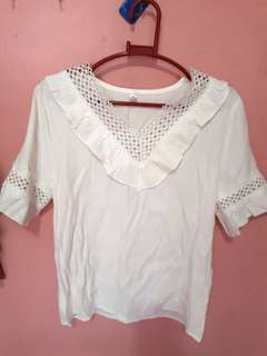 Yanyan collection white blouse