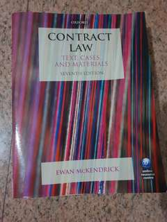Contract Law Casebook