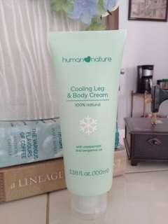 Cooling Leg & Body Lotion