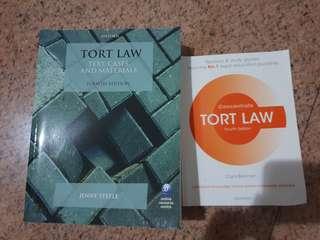 Tort Law textbooks