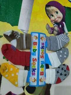 Baby socks 6 pcs