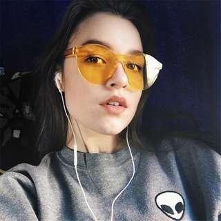 Readystock Yellow Daisy Sunglasses