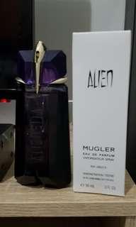 Perfum Original tester Alien Thierry Mugler with box 90ml