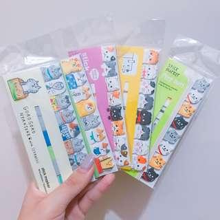 日本制‼️超可愛動物款便條貼