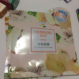 L'herboflore Pear Nourishing Hydromask
