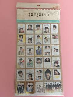 INFINITE-2014 CELEBRATE STAMP STICKER