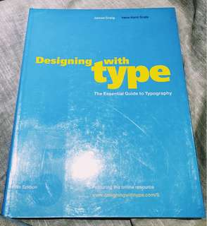Designing with Type by James Craig and Irene Korol Scala