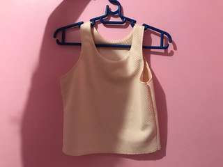 Sleeveless croptop