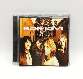 Bon Jovi These Days CD
