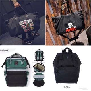 Korean Duffel Bag / Anello Bag (Instock)