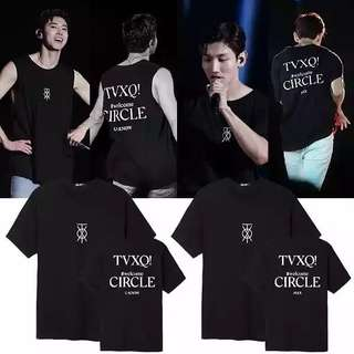 TVXQ WELCOME CIRCLE SHIRT