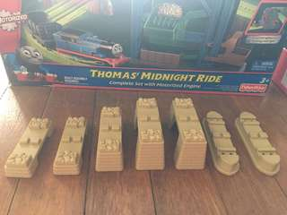 Thomas and Friends extra accessories - support for rail elevation