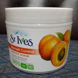 st ives blemish control apricot scrub jar 10 oz 283 gram