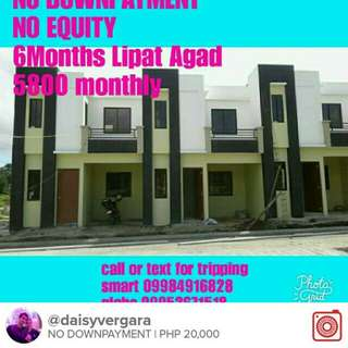NO DOWNPAYMENT,UP AND DOWN,STO.TOMAS AREA