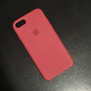 Apple silicon case (Red)