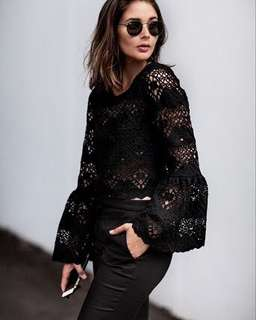 Seed Lace Top