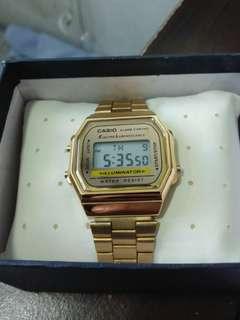 Class A Gold Casio Watch